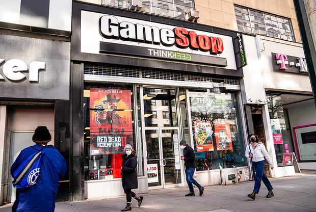 Магазин GameStop