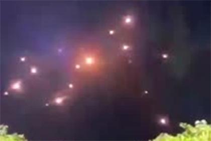 Ракетные обстрелы Израиля попали на видео