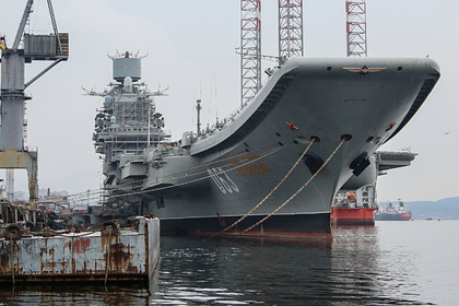 «Резистор» российского «Адмирала Кузнецова» недоиспытают