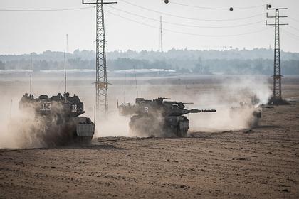 Израиль ответил на атаку палестинцев огнем из танков Merkava