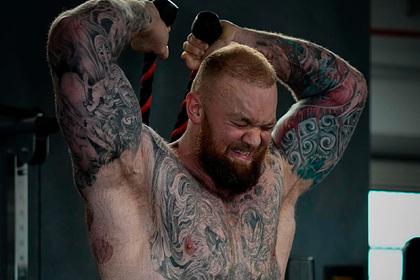 Гора из «Игры Престолов» поборолся с бойцом UFC
