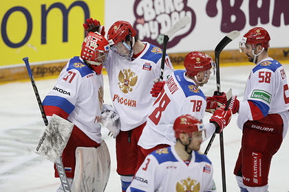Сборная России по хоккею установила историческое достижение