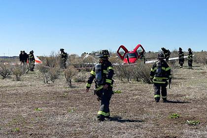 В небе над США столкнулись два самолета