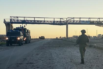В Минобороны прокомментировали инцидент с американской военной колонной в Сирии