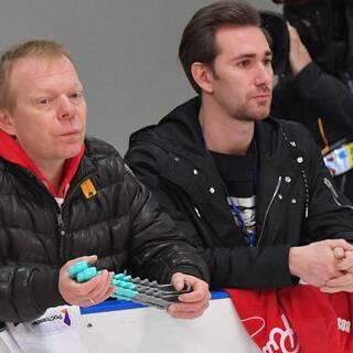 Сергей Дудаков (слева) и Даниил Глейхенгауз