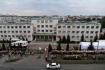 Гимназия №175 в Казани, где произошла стрельба
