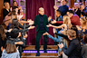 The Late Late Show with James Corden...  LOS ANGELES - DECEMBER 12: The Late Late Show with James Corden airing Tuesday, December 11, 2018, with guests Ellen DeGeneres and Patrick Wilson