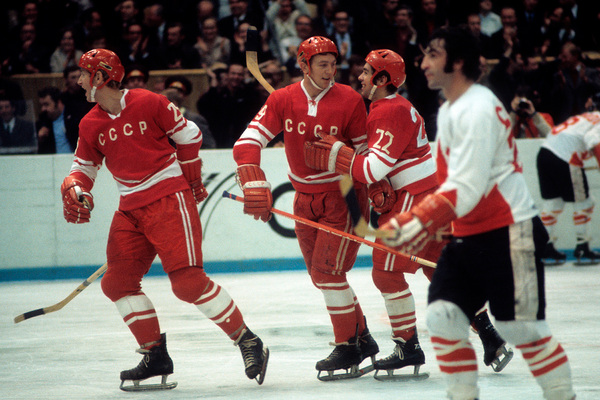 Суперсерия матчей по хоккею с шайбой между сборными командами СССР и Канады, 1972 год
