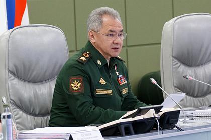 Шойгу оценил предложение ввести обязательную военную подготовку в России