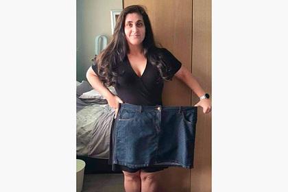 Женщина сбросила 57 килограммов и поделилась секретом успеха