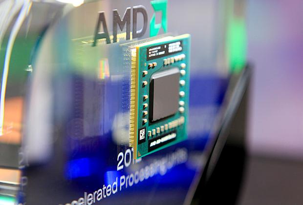 Производитель компьютерных процессоров AMD — одна из компаний, акции которых в России часто включают в состав барьерных нот