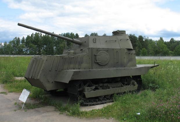 Бронетанковый музей в Кубинке. «Одесский танк», он же «НИ-1»