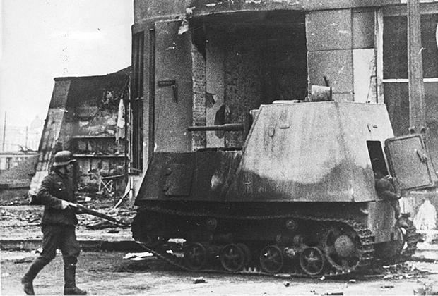 ХТЗ-16, оставленный в Харькове