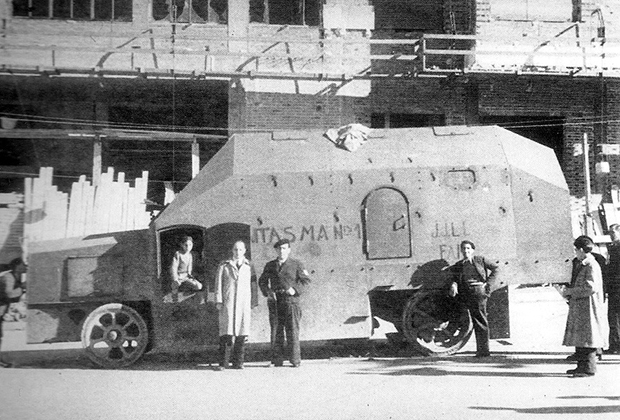 Тиснаос Fantasma испанской республиканской армии