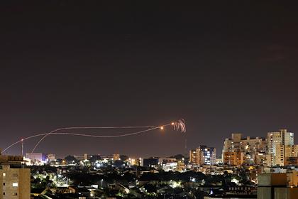 Подсчитано количество запущенных по Израилю ракет