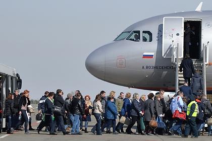 Россия возобновит международные перелеты еще из пяти городов