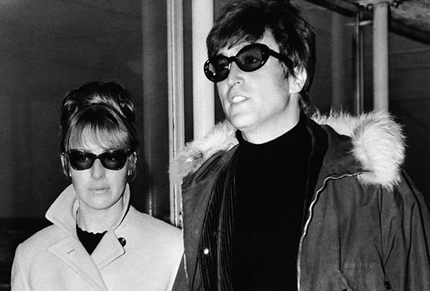 Джон и Синтия в 1966 году