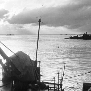 Сторожевые корабли Балтийского флота в Финском заливе.