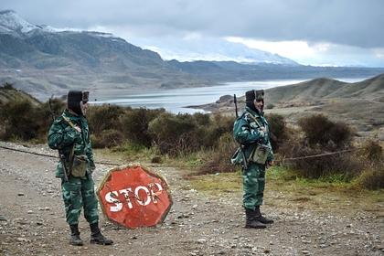 Два азербайджанских пограничника погибли в перестрелке на юге страны