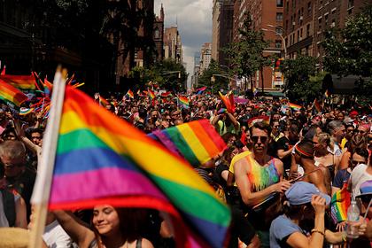 ЛГБТ-шествие в Нью-Йорке