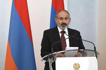 Пашинян заявил о росте напряженности на границе с Азербайджаном