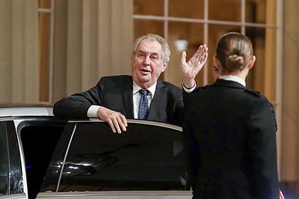 Президент Чехии захотел антироссийского преемника