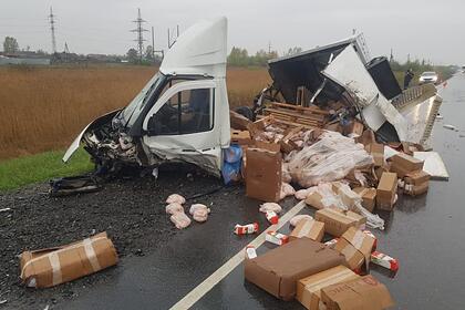 В ДТП под Красноярском погибли пять человек