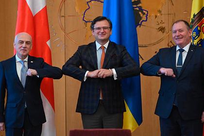 Давид Залкалиани, Дмитрий Кулеба и Аурелий Чокой