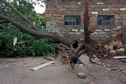 Мощный ураган разрушил десятки жилых домов в Херсонской области