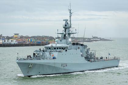 Корабль британских ВМС зашел в Одессу