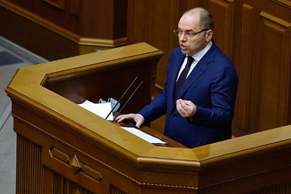 Украинского министра здравоохранения уволили за провал с вакцинацией
