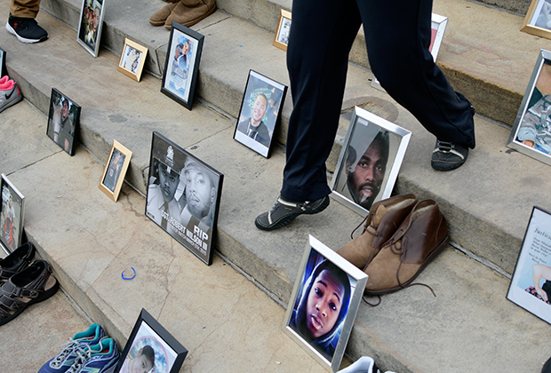 Студенты выступают за законы о контроле над оружием в Вашингтоне