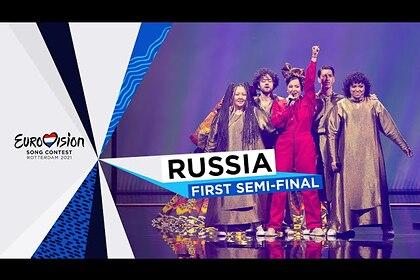 Manizha «вышла» из платья на сцене «Евровидения»