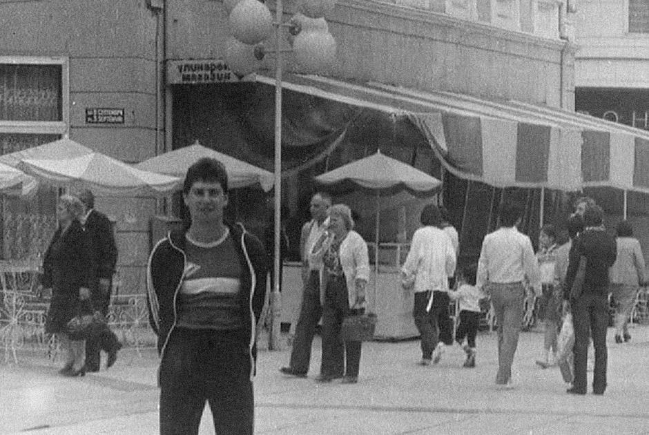1985 год. Александр Шаталин за границей
