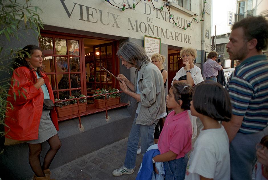 Холм Монмартр, Париж, 1990 год