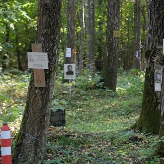 Мемориальное кладбище на территории расстрельного полигона НКВД СССР «Коммунарка» в Москве.