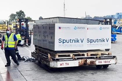 Груз российской вакцины Sputnik V в Гватемале