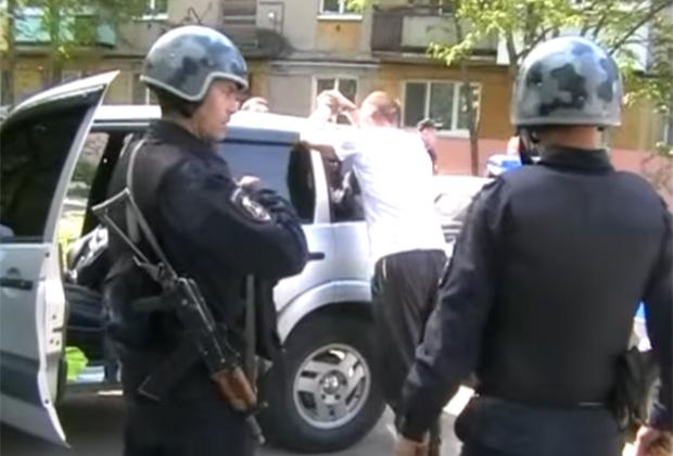 Задержание участников банды Айдаркина