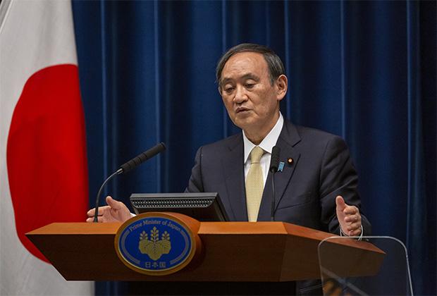Премьер-министр Японии Есихидэ Суга
