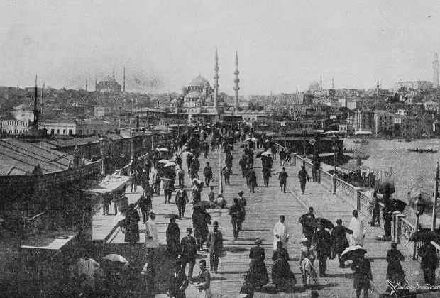 Константинополь. 1918 год
