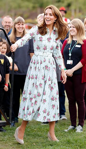 Кейт Миддлтон в 2019 году в Уокинге, Великобритания