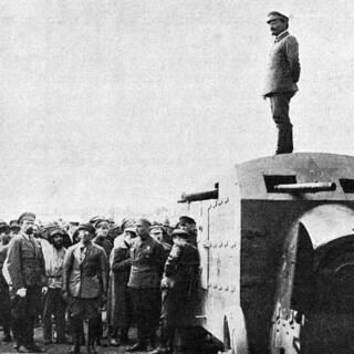 Лев Троцкий в Крыму в 1921 году