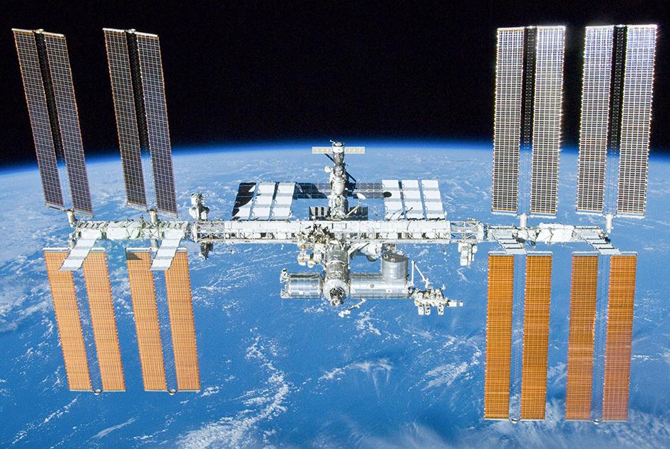 МКС с пристыкованным Space Shuttle Atlantis