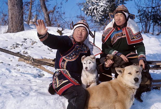 Удэгейцы-тигроловы в Уссурийской тайге