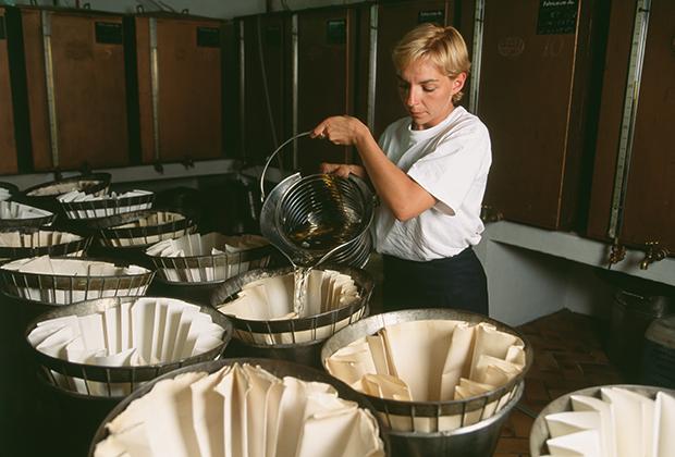 Парфюмерная фабрика Fragonard во французском городе Грас