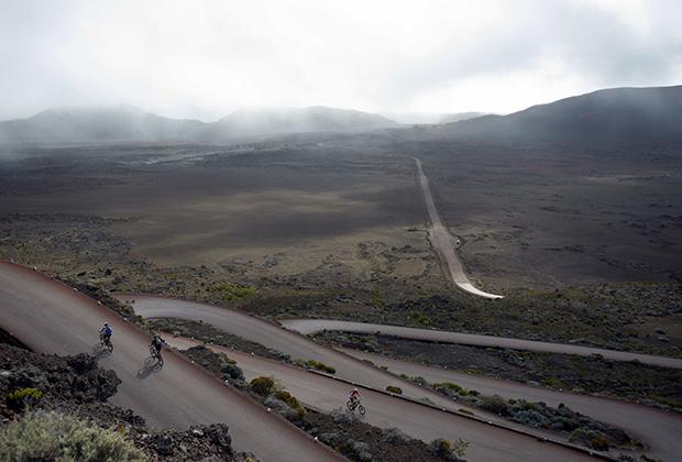 Возле вулкана Питон-де-ла-Фурнез