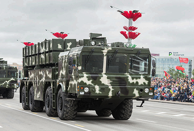 РСЗО «Полонез» на параде в честь Дня независимости Республики Беларусь