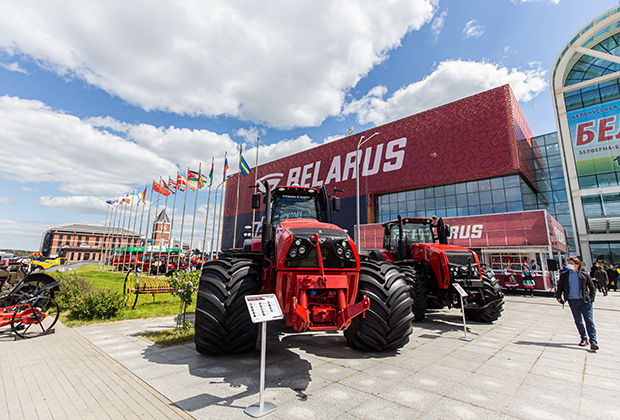 Выставка «Белагро-2021» в индустриальном парке «Великий камень»