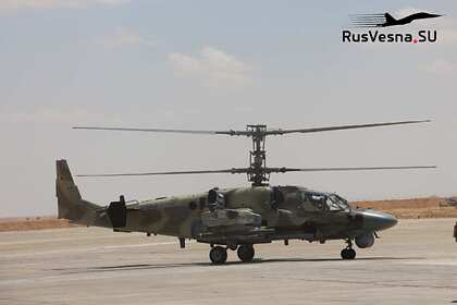 Ми-8 и «Аллигаторов» ВКС России заметили на бывшей базе армии США