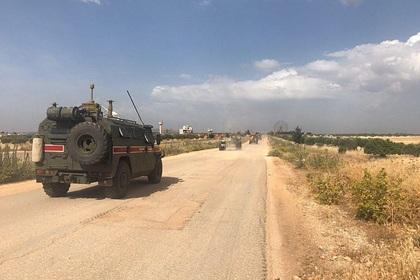 Военный погиб при нападении боевиков в Сирии